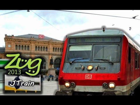 Zug2013: RE Wolfsburg - Hannover mit BR112 + n-Wagen (2015)