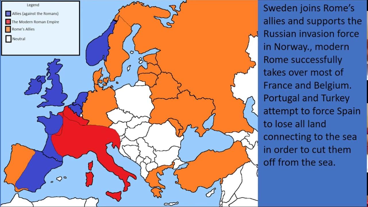 World War 3 (Animated Map) - YouTube