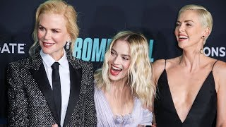 Charlize Theron, Nicole Kidman and Margot Robbie strike a perfect picture at 'Bombshell' premiere