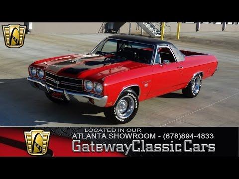 1970 Chevrolet El Camino SS - Gateway Classic Cars of Atlanta #123