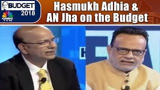 BUDGET EXCLUSIVE (1) | Hasmukh Adhia & Ajay Narayan Jha Explains the Budget Allocations | CNBC TV18