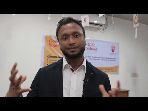 """South Asia Business School : Open Day: """"How to Innovate Business Ideas?"""" -Rahat Hossain"""