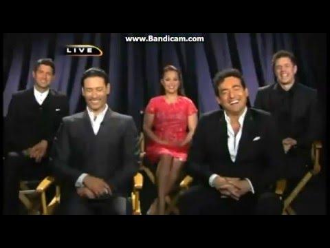 IL DIVO & Lea Salonga Interview KPLR 11 4-4-2014
