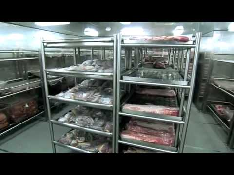 Lagerung und Zubereitung Küche von Lebensmitteln der MSC ...