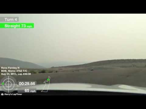 Best lap so far.  Reno Fernley Raceway 8/24/13 Club Trials