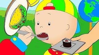 Caillou en Français   Caillou et la Cuisine Internationale   dessin animé   dessin animé pour bébé