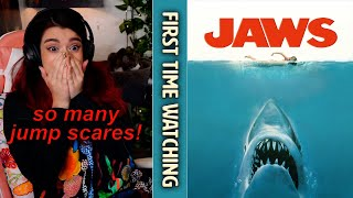 FINALLY watched JAWS & BY MYSELF TOO! (many dummies in this) First time watching reaction & review