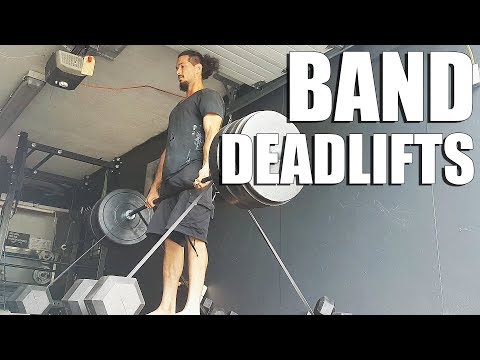Banded Deadlifts, How to Check Resistance Band Tension
