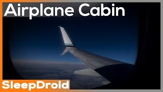 ► Airplane Cabin White Noise Sounds for Sleeping, Ambient Jet Plane Engine Sounds. 10 hours.