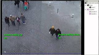 How to use GXI video analytics for Counting: People in Blackfriars bridge London