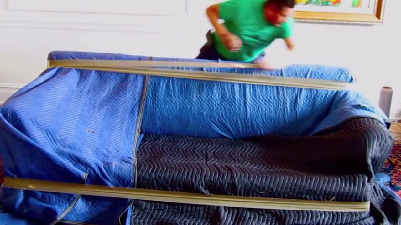 how to pack sofa packing tips tricks for moving house youtube. Black Bedroom Furniture Sets. Home Design Ideas