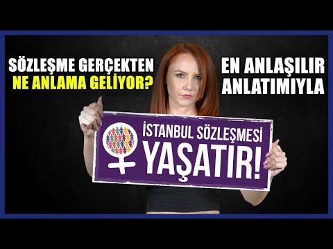 İstanbul Sözleşmesi Aslında Ne? Tüm Gerçekler