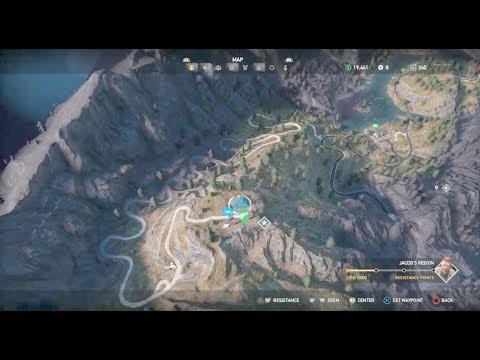 Far Cry 5 Pin Ko Radar Station Outpost Key Silver Bars Safe