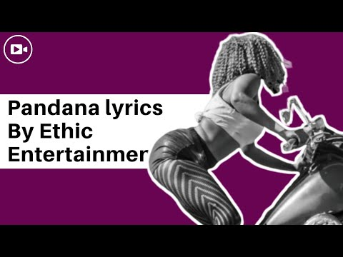 ETHIC - PANDANA [Official lyrics+Audio]