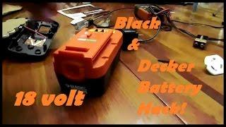 Cheap Black & Decker Battery Hack!!!