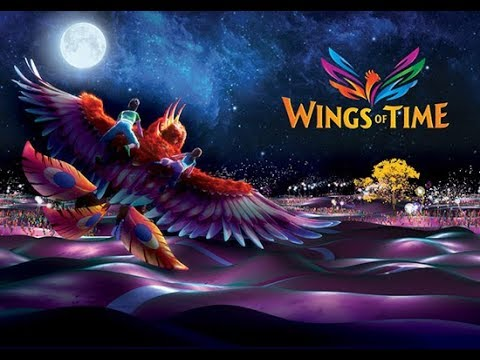 VLOG - Show Wings of Time at Sentosa Singapore