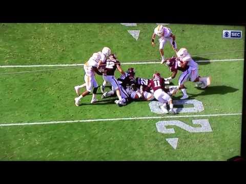 Evan Berry Fumbles On Kickoff Return | Tennessee Volunteers vs Texas A&M