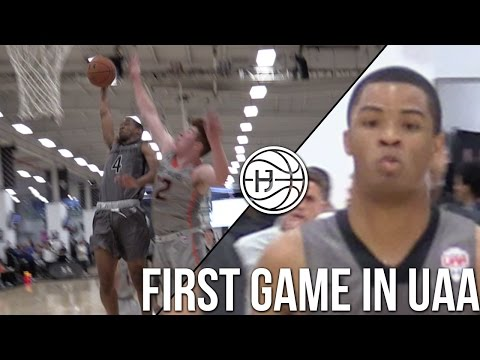 Cassius Stanley SHOWS OUT in First Game in Under Armour Circuit! Earl Watson Elite @UAA