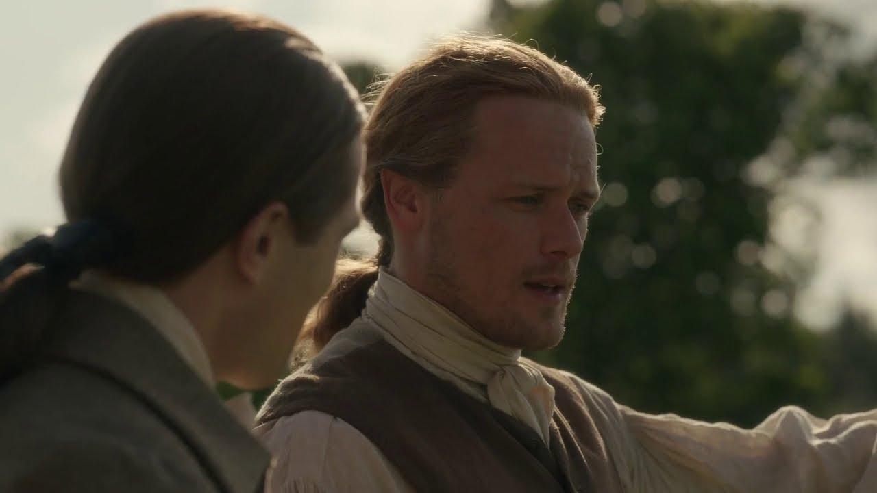 Outlander | Deleted Scene - Jamie  & John Grey Share Some Time Alone