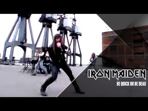 Клип Iron Maiden - Be Quick or Be Dead