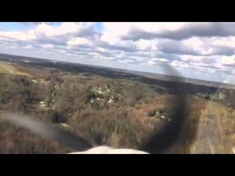Landing at Jefferson County Airport