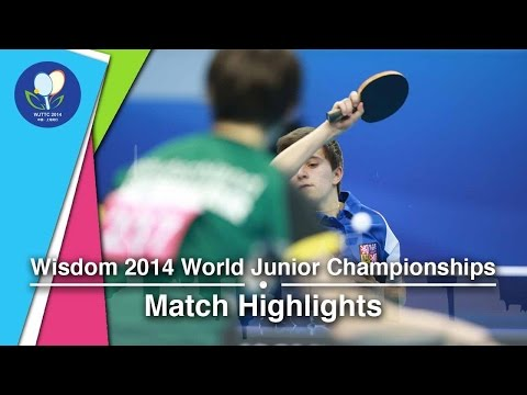 2014 Junior Worlds Highlights Nina Mittelham Vs Kristyna Stefcova (Round 1)