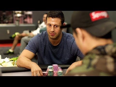 Garrett Adelstein - Insane Hero Calls ♠ Live at the Bike!