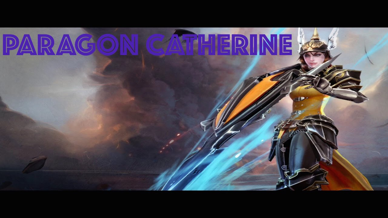 Vainglory Gameplay: NEW SKIN REVEAL - PARAGON CATHERINE