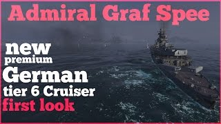 Admiral Graf Spee (3rd person look) vs Fiji 140K DMG -  World of Warships