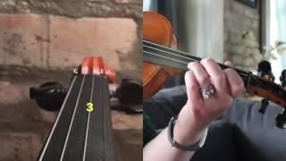 "Violin Tutorial: How to Play ""Jesus Loves Me"" by Anna B. Warner"