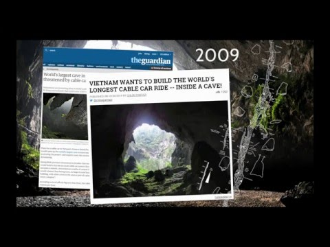 Martin Edström - Son Doong 360° - Interactive 360° Report from the World's Largest Cave - IVRPA