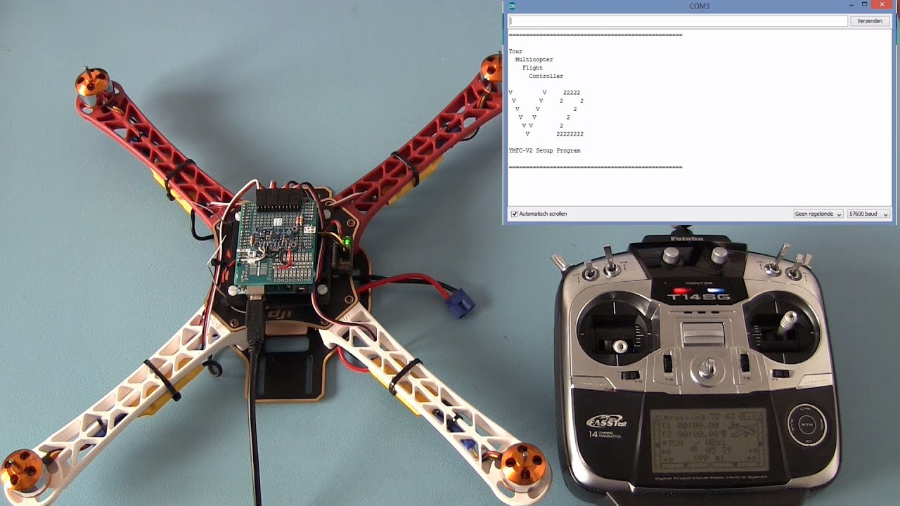 The ymfc d v arduino quadcopter made easy with free