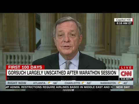 """Senate Democratic Whip Dick Durbin: Gorsuch Is """"Very Gifted"""" And """"Has A Great Background"""""""