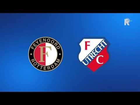 Zo klonk Feyenoord-FC Utrecht (3-1) op Radio Rijnmond!