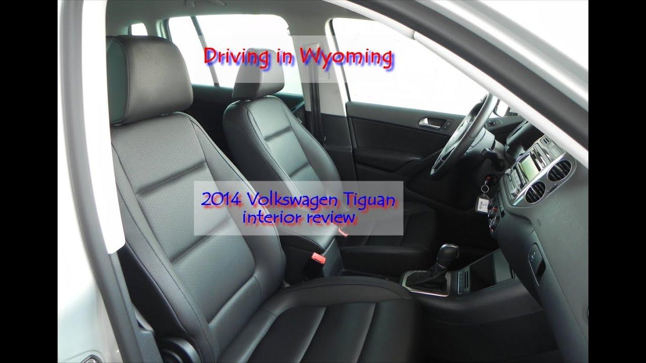 2014 Volkswagen Tiguan interior review - YouTube