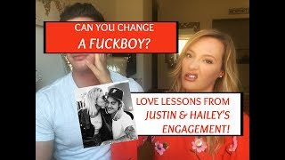 HOW TO CHANGE A PLAYER! Love Lessons From Justin Bieber & Hailey Baldwin's Engagement!