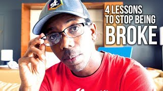 IF YOU'RE STRUGGLING OR BROKE YOU NEED TO KNOW 4 THINGS | FINANCIAL LITERACY