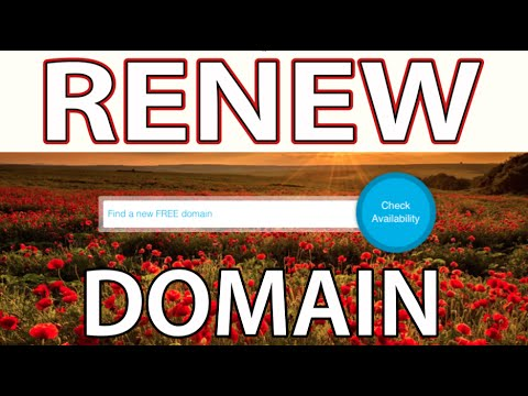 How to Renew Free Domain Name (Freenom.com)