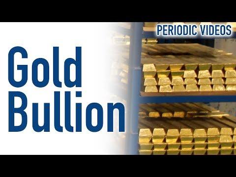 Gold Bullion Vault - Periodic Table of Videos