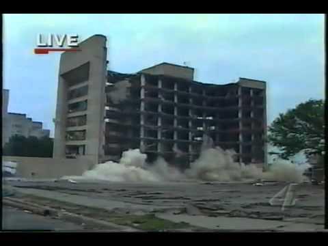 Murrah Federal Building Implosion