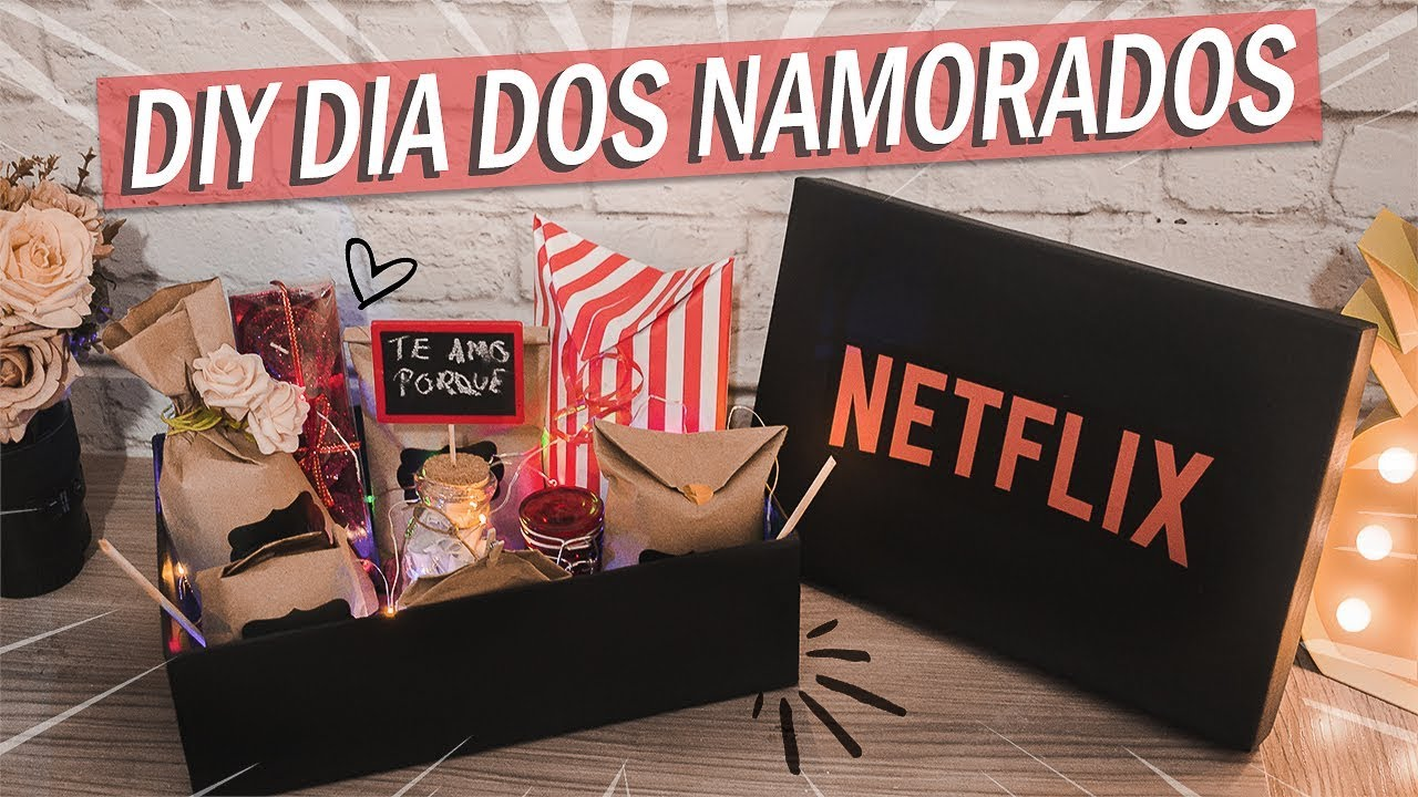 Dia Dos Namorados: DIY PRESENTE DIA DOS NAMORADOS