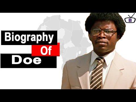 Biography of Samuel Doe,Origin,Education,Reign,Death,Wife,Children