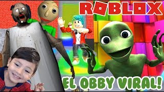 Give me your Little Thing with Granny and Baldi ROBLOX OBBY ESCAPE ? Games