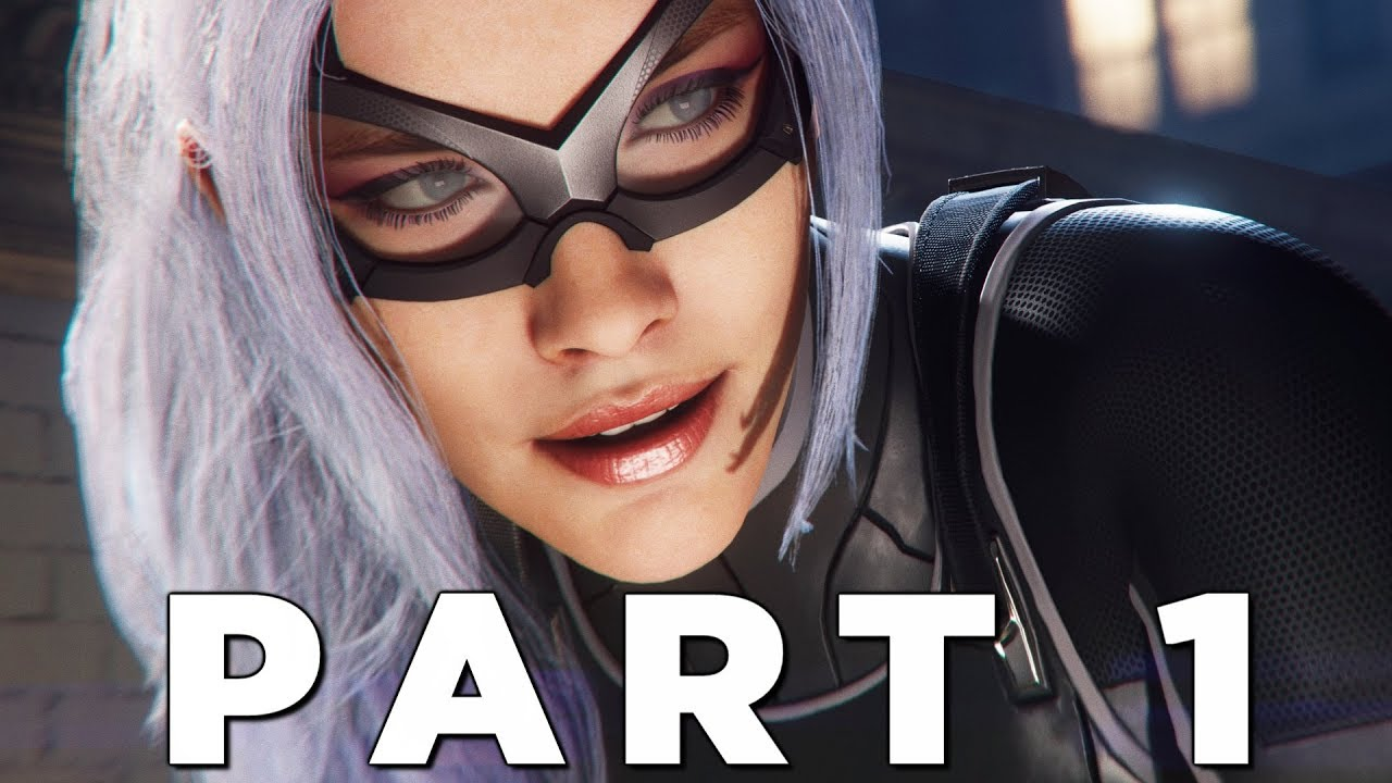 SPIDER-MAN PS4 THE HEIST DLC Walkthrough Gameplay Part 1 - BLACK CAT (Marvel's Spider-Man)