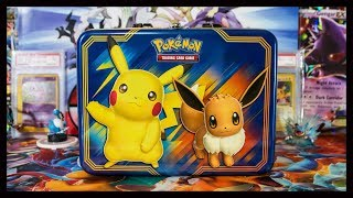 Pickachu And Eevee Collector Chest! Pokemon TCG