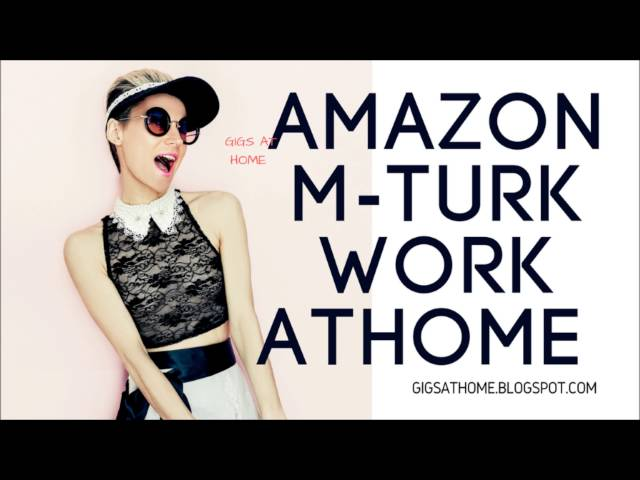 Amazon M_Turk [Work From Home} No Background check