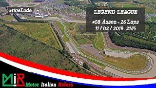 MotoGP 18   Legend League   Round #08   Assen   Live Streaming 1080p