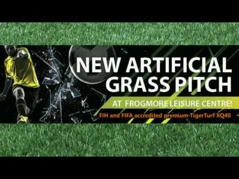 New Artificial Grass Pitch at Frogmore Leisure Centre