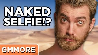 Rhett's Not-Naked Selfie