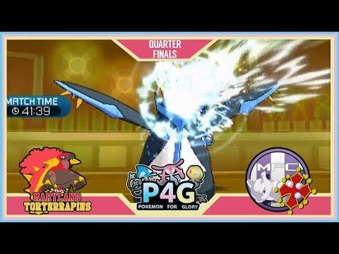 P4G S2 R1 PLAYOFFS [BATTLE] Maryland Torterrapins vs Mewtwolous FC [Pokemon Sun & Moon]
